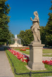 Statua a Varsavia Fotografia Stock