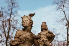 Statua Varsavia - in Polonia immagine stock