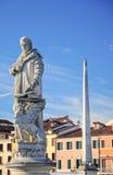 Statua veneziana Fotografie Stock