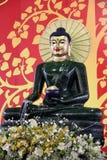 Statua verde smeraldo del Buddha Immagine Stock Libera da Diritti