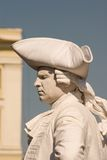 Statua vivente Fotografia Stock