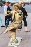 Statua vivente - Parigi Fotografia Stock