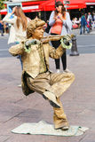 Statua vivente - Parigi Immagine Stock