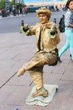 Statua vivente - Parigi Immagini Stock