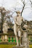 Statua Vulcan w Jardin du Luksemburg, Paryż, Francja zdjęcie stock