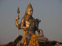 Statua władyka Shiva w Murdeshwar zdjęcia stock