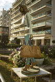 Statua w Cannes, Francja obraz royalty free