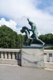 Statua w Frogner parku, Oslo, Norwegia Obraz Royalty Free