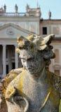 Statua w parku willa Pisani, Włochy Zdjęcie Royalty Free