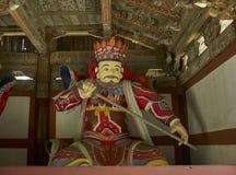Statua w Pohyon świątynny Północny Korea Obraz Stock