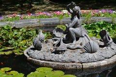Statua w Royal Palace San Ildefonso's gospodarstwo rolne Zdjęcia Royalty Free