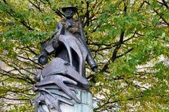 Statua w sądzie Zdjęcie Royalty Free