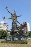Statua w Walencja, Hiszpania Zdjęcia Royalty Free
