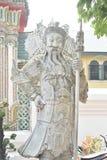 Statua a Wat Pho, Phra Phutta Saiyat Phra non Wat Phra Chetuphon Wimon immagine stock libera da diritti