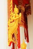Statua in Wat Tham Bucha, Surat Thani, Tailandia fotografie stock libere da diritti