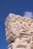 Statua wiara przy Abrasha parkiem Obrazy Royalty Free
