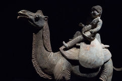 Statua wielbłądzi jeździec Fotografia Stock