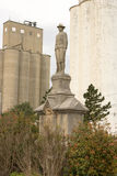 Statua, wiosna, adra, góruje Fotografia Royalty Free
