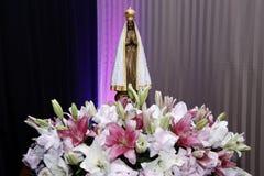 Statua wizerunek Nasz dama Aparecida obraz stock