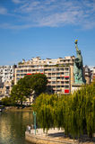 Statua Wolności w Paryż Zdjęcie Royalty Free