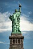 Statua Wolności widzieć od plecy fotografia royalty free