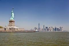 Statua Wolności, Nowy Jork miasto Obrazy Stock