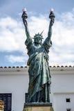 Statua Wolności w Cadaques, Hiszpania Obraz Stock