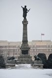 Statua Wolności w fortelu Fotografia Royalty Free