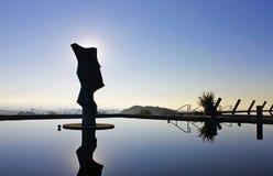 Statua wytwórnia win przy Napy doliną Fotografia Stock