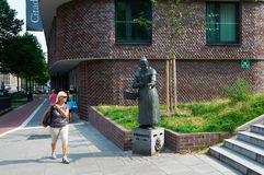 Statua Zitronenjette hamburger Zdjęcie Royalty Free