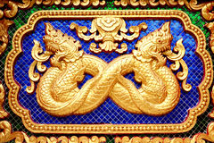 statua zodiak tajlandzki ścienny Fotografia Stock