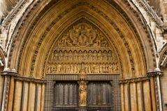 Statuaire dans l'Abbaye de Westminster images stock