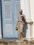 Statuaire dans le jardin Images stock
