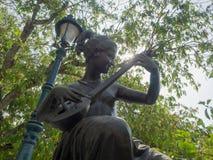 Statuaire dans le jardin Photographie stock