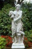 Statuarisch in Huntington-Bibliothek und in den Gärten, Pasadena, CA lizenzfreie stockfotos