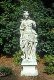 Statuarisch in Huntington-Bibliothek und in den Gärten, Pasadena, CA stockfoto