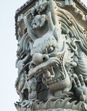 Statuary dragon Stock Photography