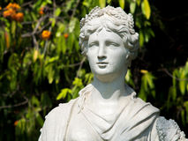 Statuary in the garden Royalty Free Stock Photo