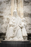 Statuary of Jesus Christ in the St. Joseph's Cathedral. Royalty Free Stock Photo