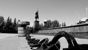 Statuary. Mihai Viteazul Craiova Romania Stock Photo