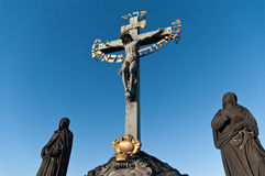 Statuary of St. Cross Calvary Royalty Free Stock Image