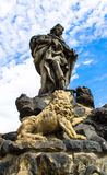 Statuary of St. Vitus Royalty Free Stock Image