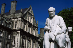 Statuary trinity college. Dublin ireland europe Stock Photography
