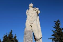 Statuaryczny Romański miasto Italica obraz stock