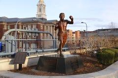 Statue à Boston Photographie stock libre de droits