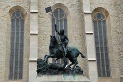 Statue à Cluj-Napoca photos stock