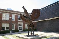 Statue à l'agent de réservations T Washington Performing Arts School image stock