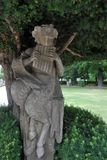 Statue à la résidence de rzburg de ¼ de WÃ, rzburg de ¼ de WÃ, Allemagne photos stock