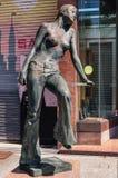 Statue à la station de train d'Ueno Images stock