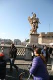 Statue à Roma image libre de droits